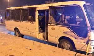 1 policeman dies, 8 injured in terrorist act