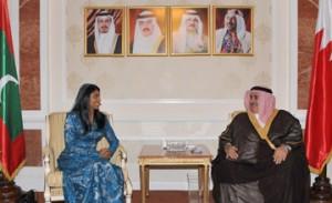 FM receives Maldivian presidential envoy