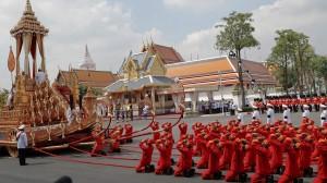Lavish funeral held for beloved Thai king