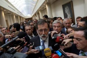 Spanish PM pledges to restore legitimacy in Catalonia