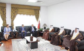 Bahrain, Egypt prosecution chiefs discuss cooperation