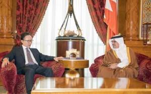 Crown Prince meets former S.Korean President