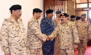 HM King visits BDF, praises future plans