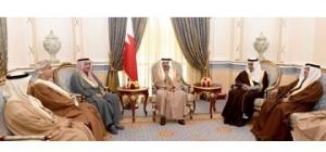HRH Premier receives GCC ambassadors