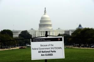 US government goes into shutdown