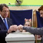 Anastasiades re-elected Cyprus President