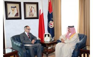 Bahrain-British cooperation discussed