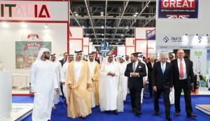 Hamdan bin Rashid opens Gulfood 2018