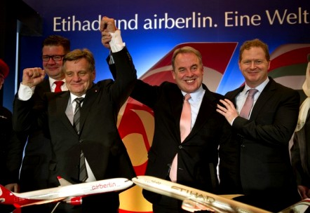 Etihad become biggest shareholder in Air Berlin