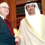 Sheikh Abdullah and President of Greece