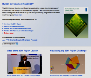 UNDP Human Development Report