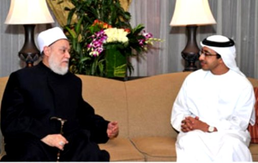 Sheikh Abdullah receives Grand Mufti of Egypt