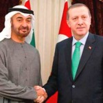Sheikh Mohammed bin Zayed holds talks with PM of Turkey