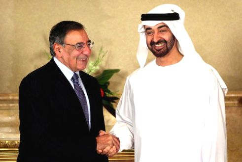 Mohammed bin Zayed meets U.S. Defence Secretary