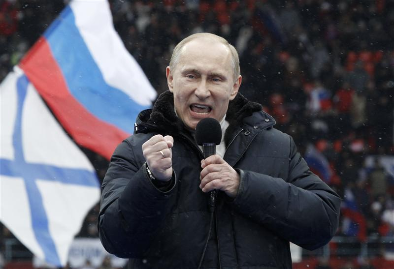 Putin wins Russia's Presidential vote