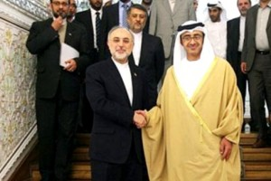 Sheikh Abdullah discuss relations with FM of Iran