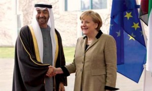 Sheikh Mohammed bin Zayed meets German Chancellor