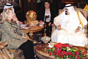 Clinton discusses Syria crisis with King Abdullah