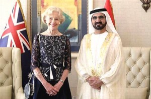 Sheikh Mohammed meets Governor General of Australia