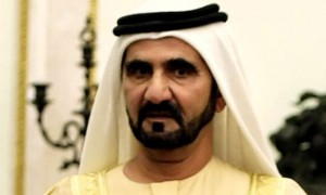 Sheikh Mohammed receives Chinese official