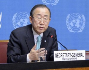 Situation in Syria 'highly precarious': Ban Ki Moon