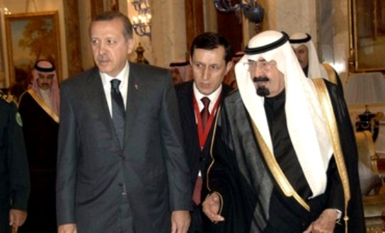 Turkish PM meets Saudi King Abdullah