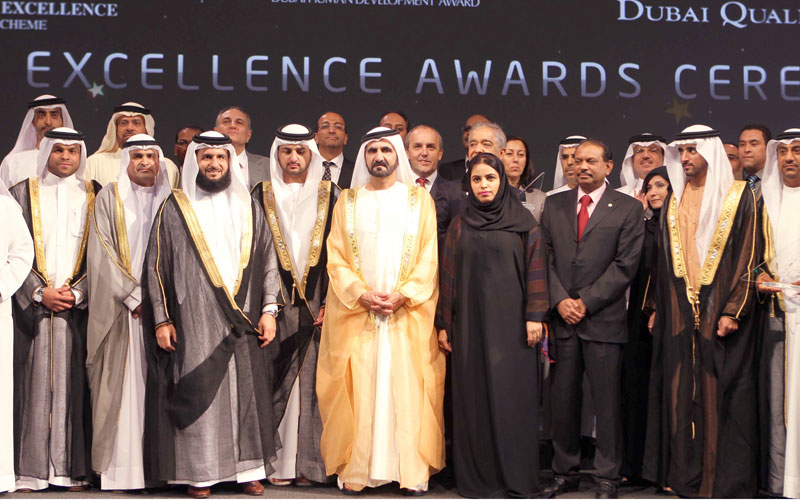 Winners of Government Excellence Awards honoured