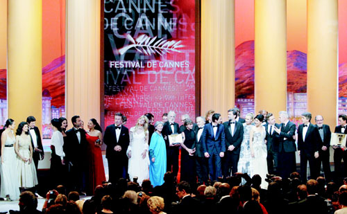 65th Cannes Film Festival ends