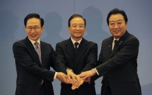 China, Japan, S. Korea warn N. Korea off atom test