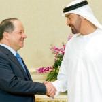 Sheikh Mohammed hold talks with Masoud Barazani