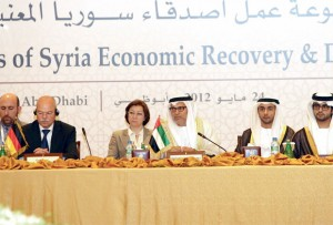 UAE-Germany to fund Syrian economic revival