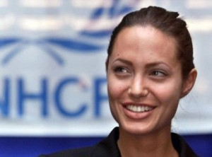 Angelina leads World Refugee Day Campaign