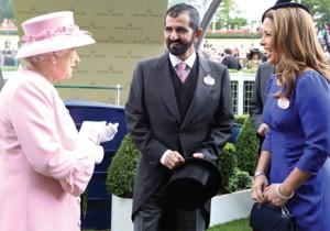 Sheikh Mohammed meets Queen Elizabeth II
