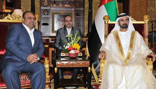 Sheikh Mohammed receives Iranian Oil Minister
