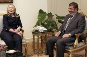 Clinton vows US support for Egypt