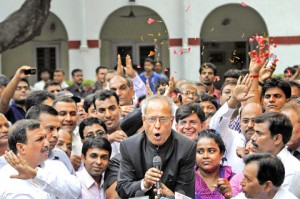 Pranab Mukherjee elected 13th President of India