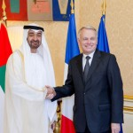 Sheikh Mohammed bin Zayed meets French PM