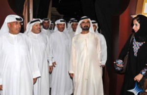 Sheikh Mohammed meets media personalities, top officials