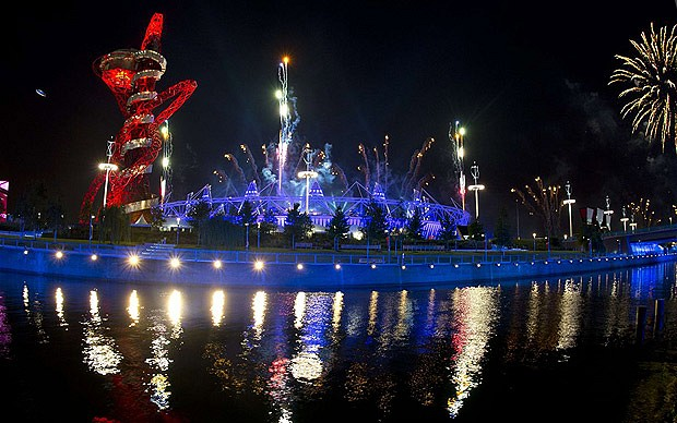 The Greatest Show on Earth 'London Olympics 2012' begins