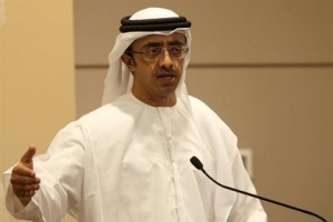 UAE looks to boost ties with Egypt: Sheikh Abdullah