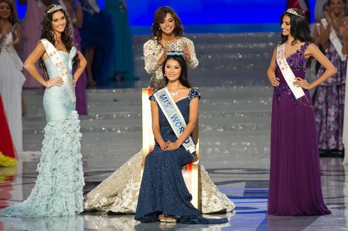 Miss China wins Miss World 2012 title