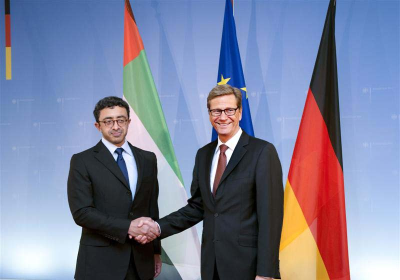 Sheikh Abdullah meets German Foreign Minister