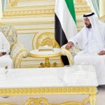 President Khalifa receives RAK Ruler