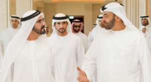 Sheikh Mohammed meets General Sheikh Zayed Al Nahyan
