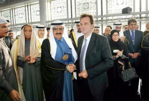 Sheikh Hamdan Bin Rashid Visits Paris