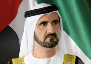 Sheikh Mohammed Receives Qatari Crown Prince's Letter
