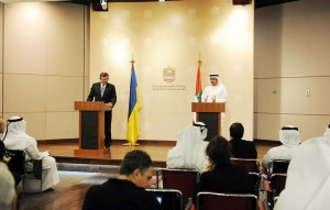 UAE keen to Strengthen Ties with Ukraine: Sheikh Abdullah