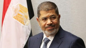Egyptian President Mursi Meets Top Judges