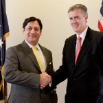Javed Malik Meets US Ambassador Richard Olson