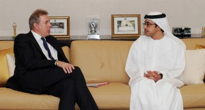 Sheikh Abdullah receives British National Security Advisor